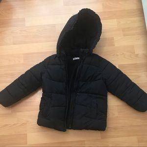 Girls winter puffer coat